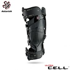 Asterisk Ultra Cell Knee Protection System Adult (Black) Pair